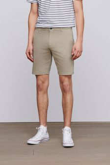 Chinoshort met stretch