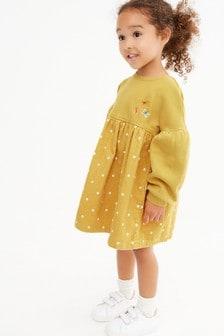 Вельветовое платье с рукавами реглан (3 мес.-7 лет)