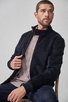 Вельветовая куртка Харрингтон