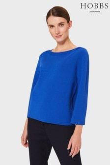 סוודר של Hobbs דגם Alyssa בצבע כחול