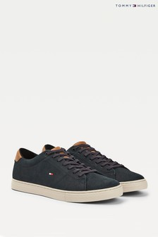 Tommy Hilfiger Blue Essential Nubuck Trainers
