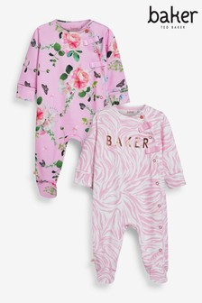 Lot de 2 dors-bien Baker by Ted Baker roses