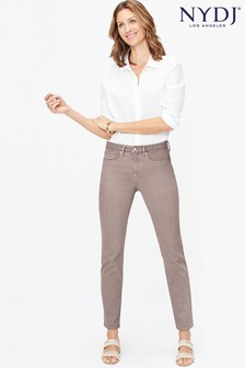 NYDJ Sheri Farbige Jeans in Slim Fit