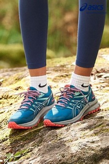 ASICS Blue Scout 2 Trail Trainers