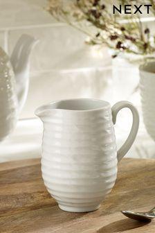 Malvern Embossed Milk Jug