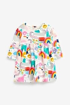 Платье с единорогами (0 мес. - 2 лет)