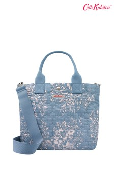 Cath Kidston® Washed Rose Poly Small Tote Bag