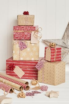 8m Wrapping Paper Set