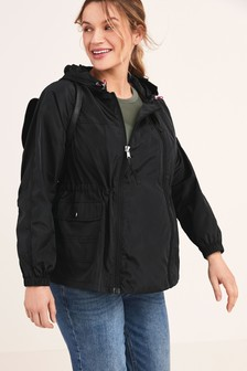 Maternity 2-In-1 Shower Resistant Lightweight Packable Jacket