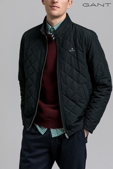 Gant Black Quilted Windcheater