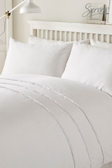 Serene Tassel Duvet Cover And Pillowcase Set