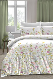D&D Exclusive To Next Aimee Floral Duvet Cover and Pillowcase Set