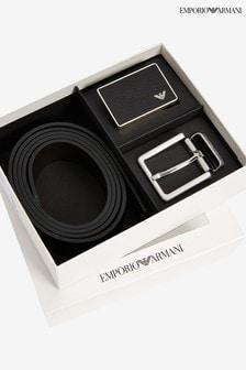 Emporio Armani Plate Belt Set