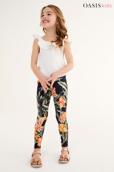 Oasis Stretch Printed Leggings