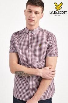 Lyle & Scott Short Sleeve Gingham Shirt