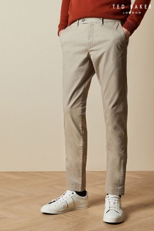 Ted Baker Brown Tincere Super Slim Fit Chinos