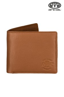 Animal Tan Turmoil 2 Leaf Wallet