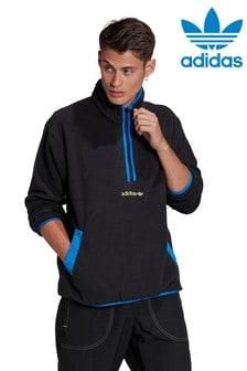 adidas Originals アドベンチャー 1/2 ジップ フリース パーカー