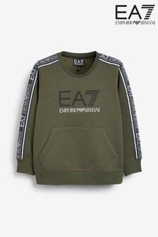 Emporio Armani EA7 Boys Tape Sweatshirt