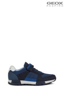 Modré topánky Geox Boy's Alfier
