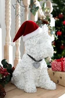 Walter The Westie Dog Christmas Decoration (765643) | $43
