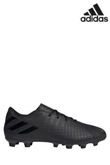 מגפי כדורגל כהים לאחיזה בקרקע דגם Motion Nemeziz P4 של Adidas