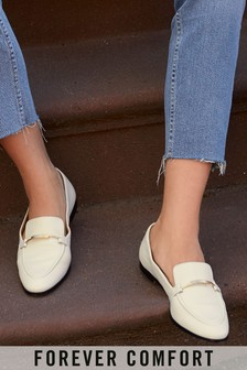 Leather Forever Comfort® Hardware Loafers