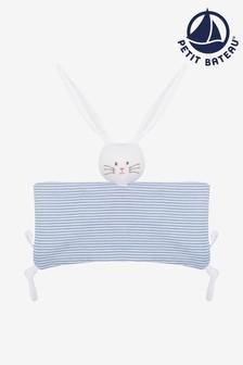 Petit Bateau Blue Bunny Comforter