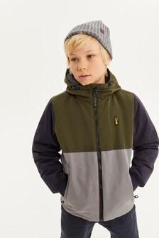 Куртка-бомбер на подкладке из искусственного меха (3-16 лет)