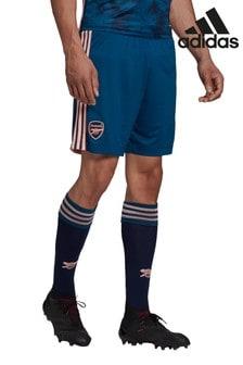 adidas Blue Arsenal FC Third 20/21 Football Shorts