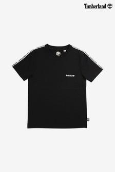Čierne tričko Timberland® s malým logom