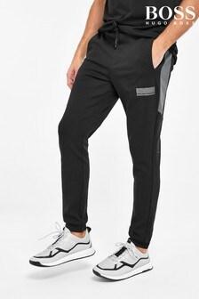 Черные спортивные брюки BOSS Halvo