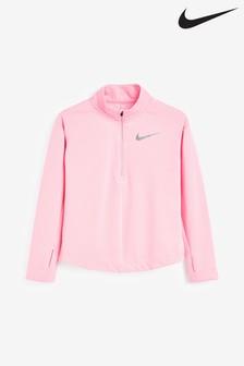 Nike Langärmeliges Laufshirt mit 1/2-Reissverschluss