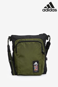 adidas卡其色Urban Xplorer小商品袋