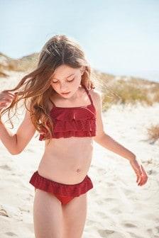 小裙擺比基尼 (3-16歲)