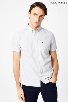 Jack Wills Light Ash Marl JW Stableton Oxford Shirt