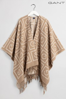 GANT Brown Icon G Poncho