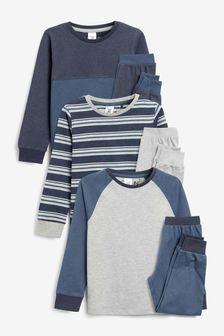 3 Pack Pyjamas (3-16yrs)