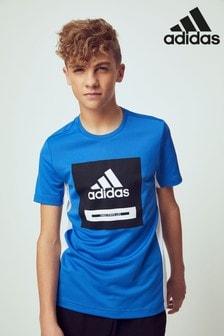 Športové tričko s výrazným logom adidas