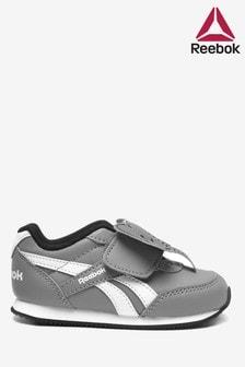 Reebok灰色/白色嬰兒運動鞋
