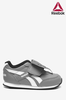 Reebok Grey/White Infant Trainers