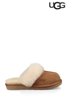 נעלי בית נעימות שלUGG® בצבע חום בהיר