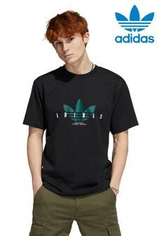 adidas Originals Black Script T-Shirt