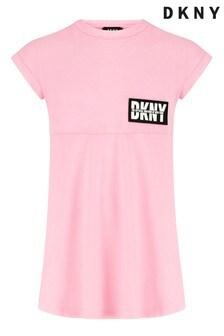 DKNY Skaterkleid, Pink