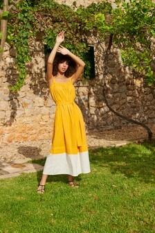 فستان موديل Colourblock