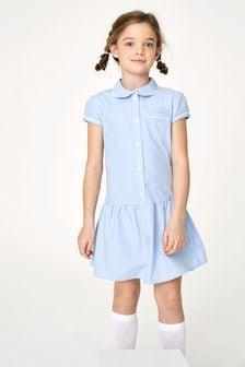 Drop Waist Gingham Dress (3-14yrs)