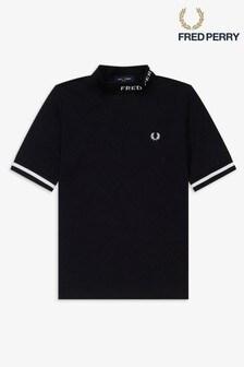 Fred Perry Hoch geschlossenes T-Shirt