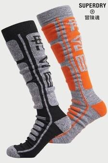 Superdry Merino 襪子兩對裝