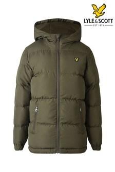 Lyle & Scott Green Padded Jacket
