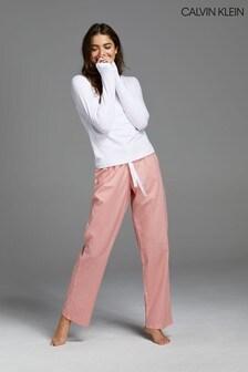 Calvin Klein Pink Pyjama Bag Set